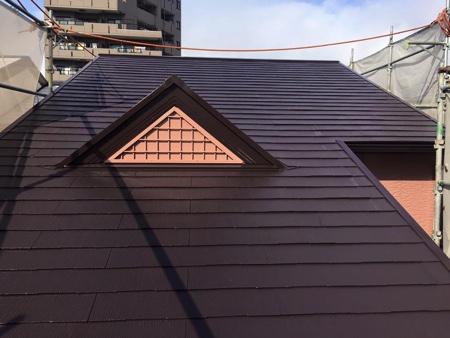 屋根塗装 - 施工後