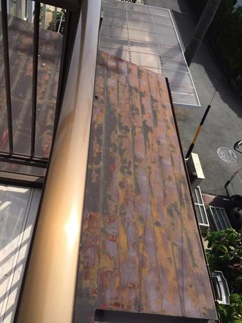 梅雨の前に屋根塗装