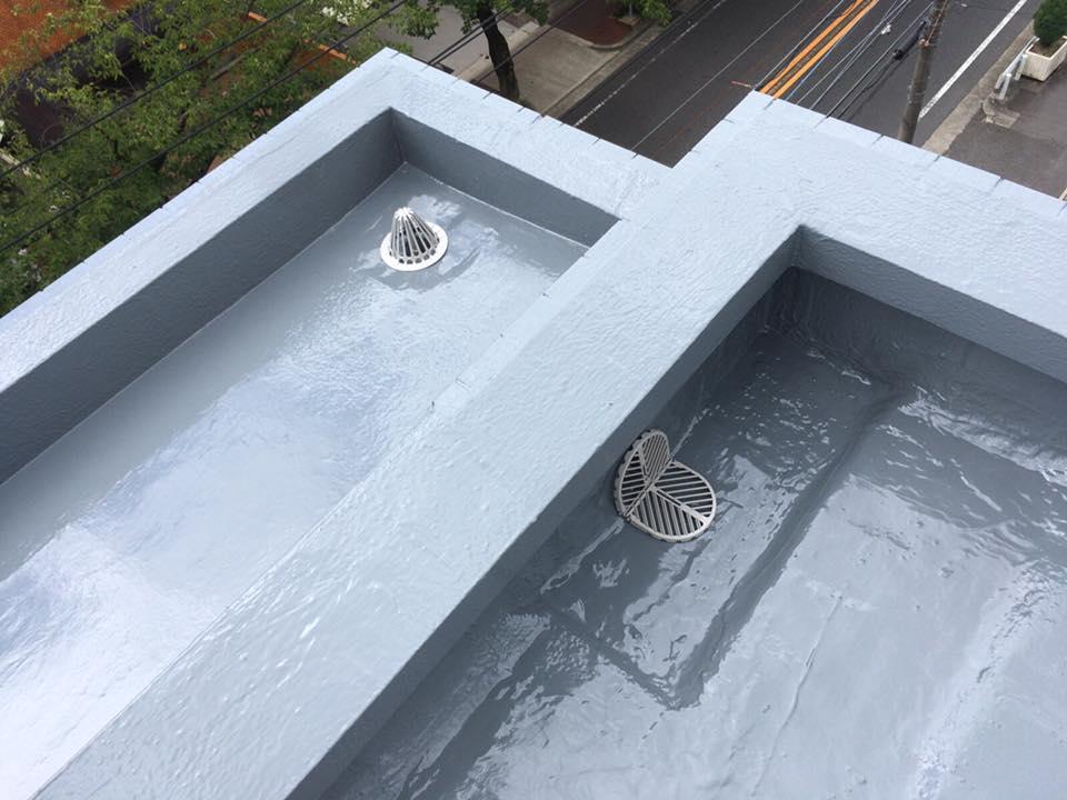賃貸マンションの防水工事-修繕後