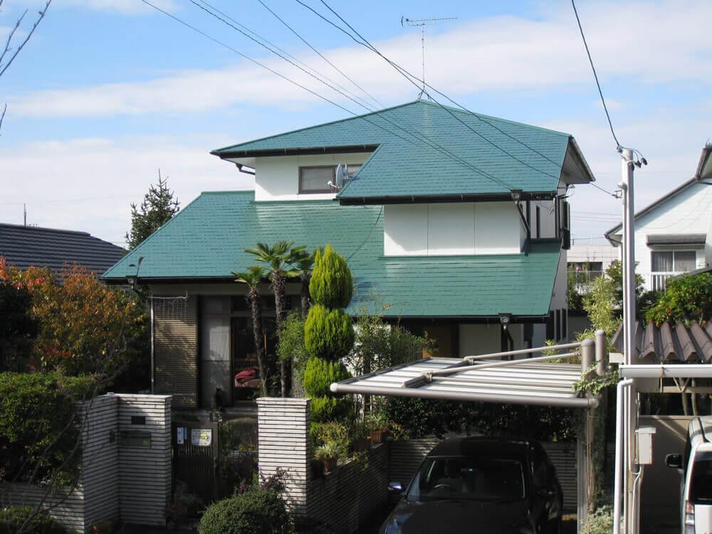 名古屋匠塗装の屋根塗装