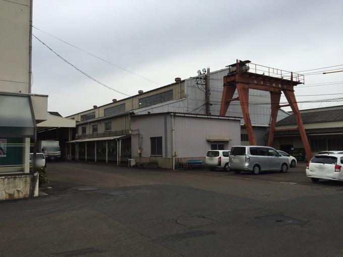 工場の塗装-劣化