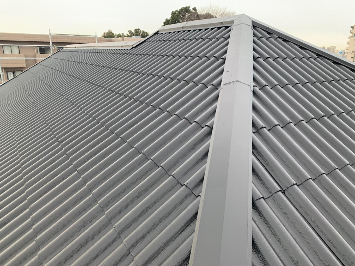 名古屋匠塗装の屋根塗装施工事例です。